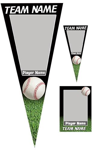 Baseball Pennant Pack