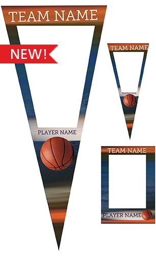 Extreme Basketball Pennant Pack