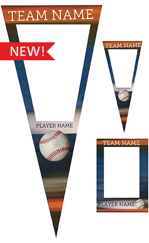 Extreme Baseball Pennant Pack