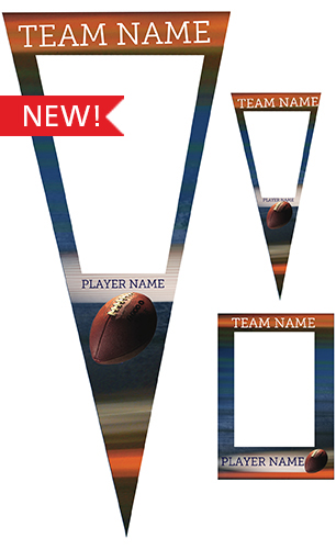Extreme Football Pennant Pack