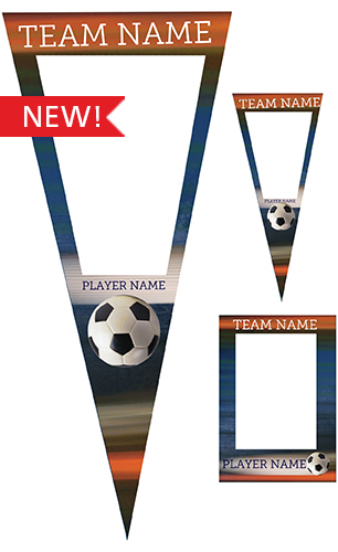 Extreme Soccer Pennant Pack