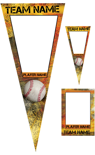 Fierce Baseball Pennant Pack