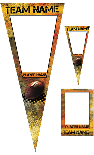 Fierce Football Pennant Pack