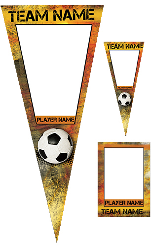 Fierce Soccer Pennant Pack
