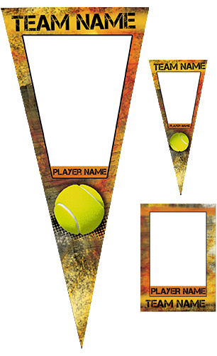 Fierce Tennis Pennant Pack
