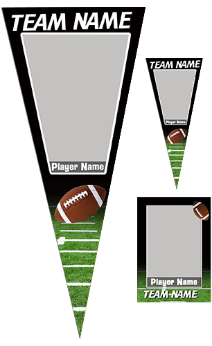Football Pennant Pack