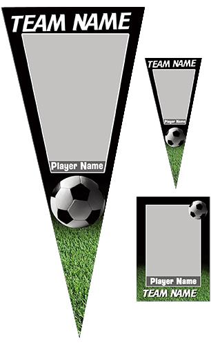 Soccer Pennant Pack