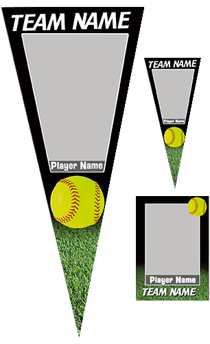 Softball Pennant Pack