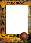Fierce Basketball Luggage Tag