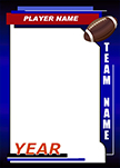 Football Pro Bag Tag