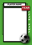Soccer Luggage Tag