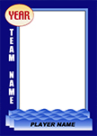 Swimming Pro Bag Tag