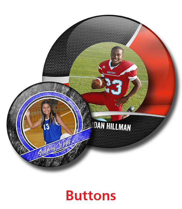 Sports Buttons