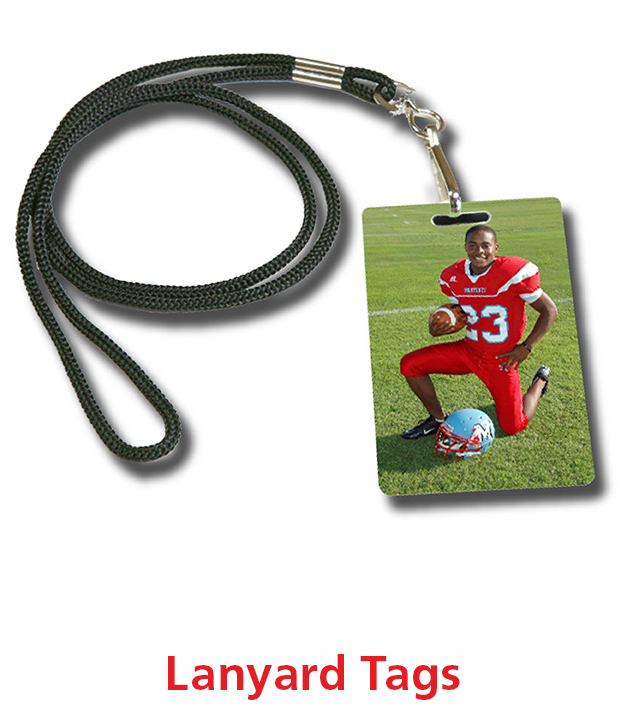 Sports Lanyard Tags