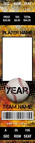 Fierce Baseball Stadium Ticket