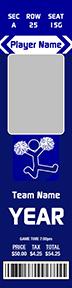 Iconic Cheerleading Stadium Ticket