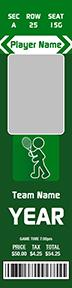 Iconic Tennis Stadium Ticket