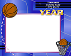 Basketball Group Graphic
