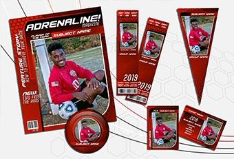 NEW! Adrenaline Sports Design