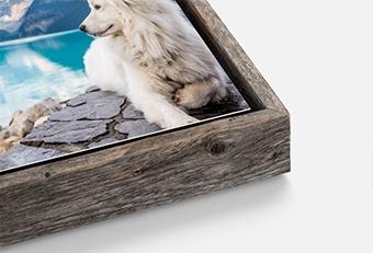 Barnwood Slim Float Frames