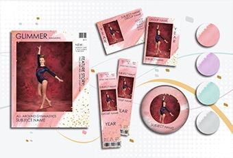 Glimmer Gymnastics Design