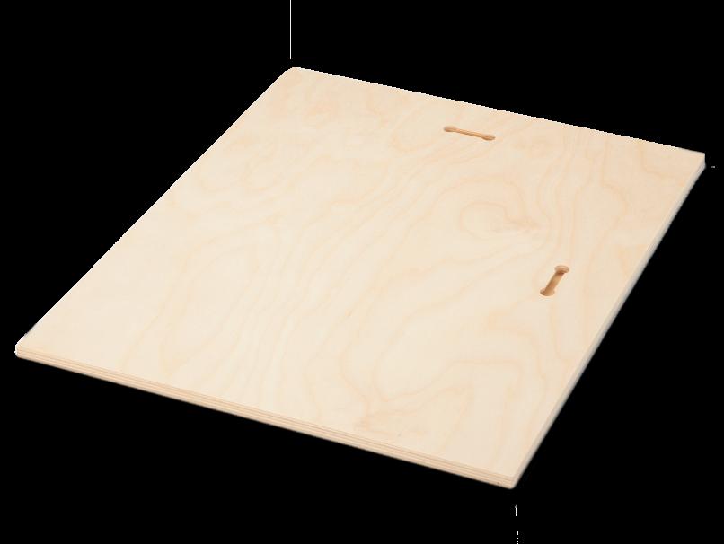 Keyhole Mount on back of Wood Print