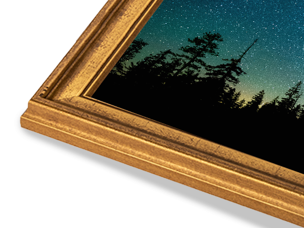 Americana Elegance Gold Frame