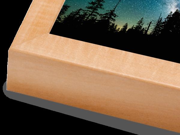 Box Natural Basic Wood Frame