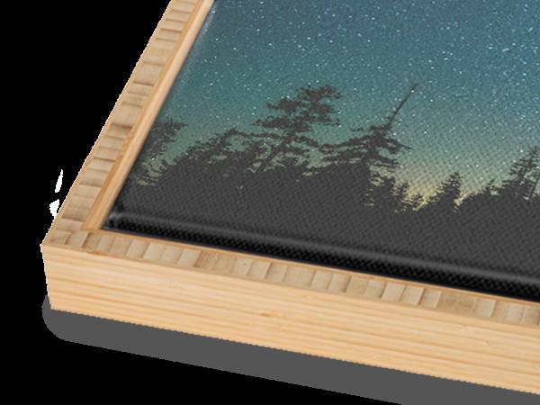 Bamboo Natural Float Frame