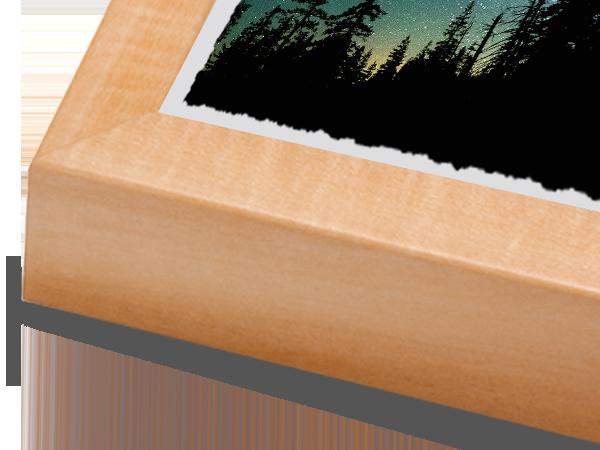 Natural Basswood Box Frame