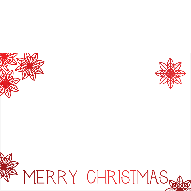 Holiday Foil Stamped Cards Design FL001Ph
