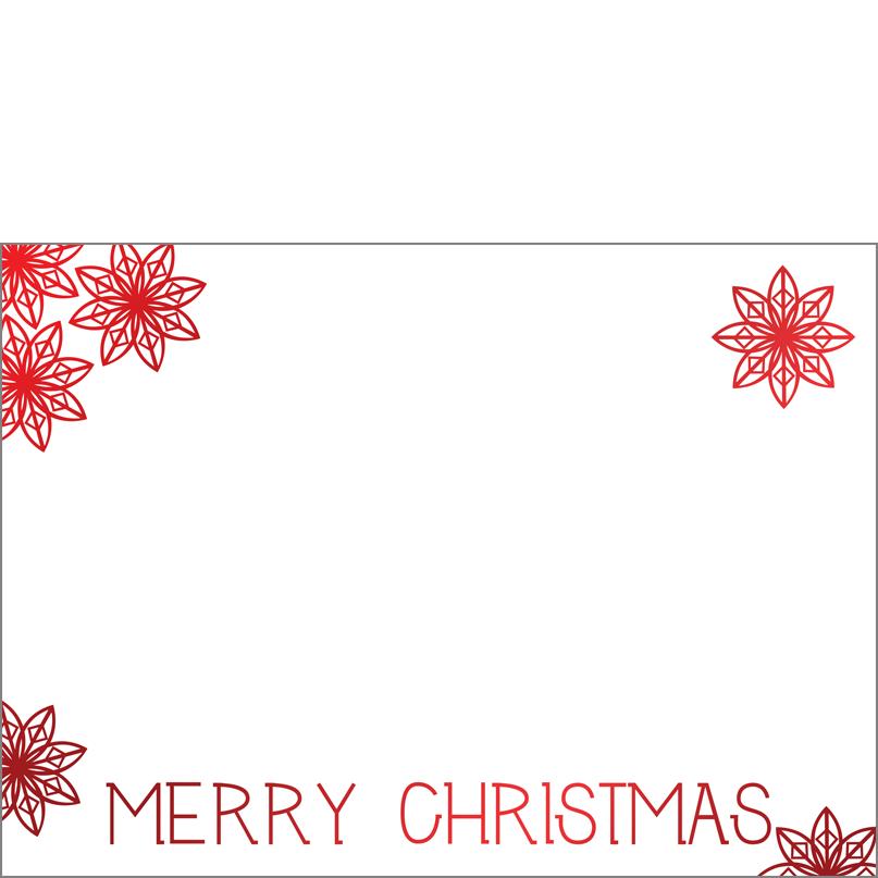 Holiday Foil Stamped Cards Design FL001Ph