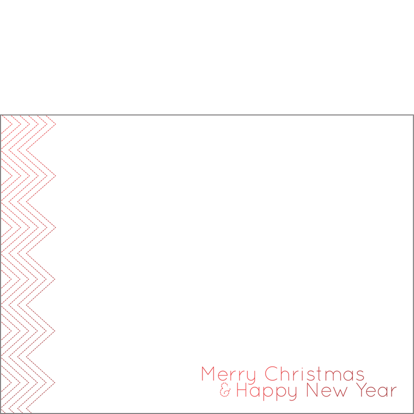 Holiday Foil Stamped Cards Design FL002Ph