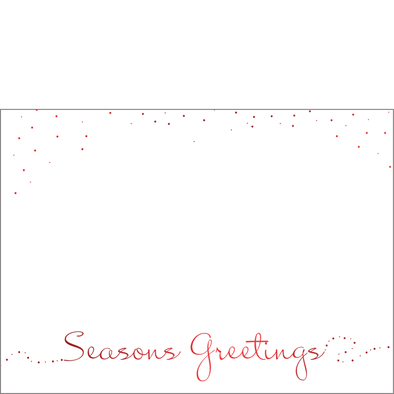 Holiday Foil Stamped Cards Design FL003Ph
