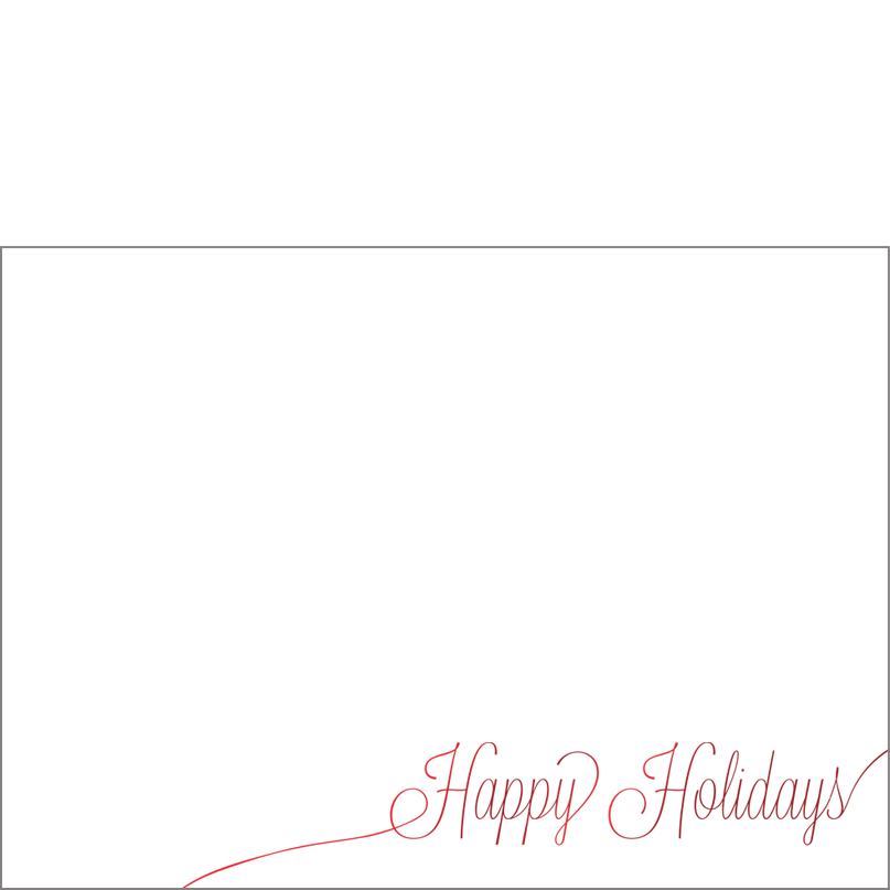 Holiday Foil Stamped Cards Design FL004Ph