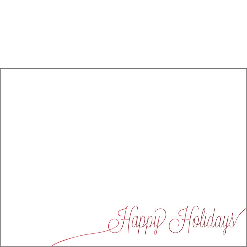 Holiday Foil Stamped Cards Design FL004Ph
