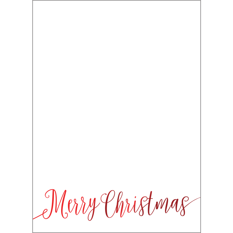 Holiday Foil Stamped Cards Design FL012Pv