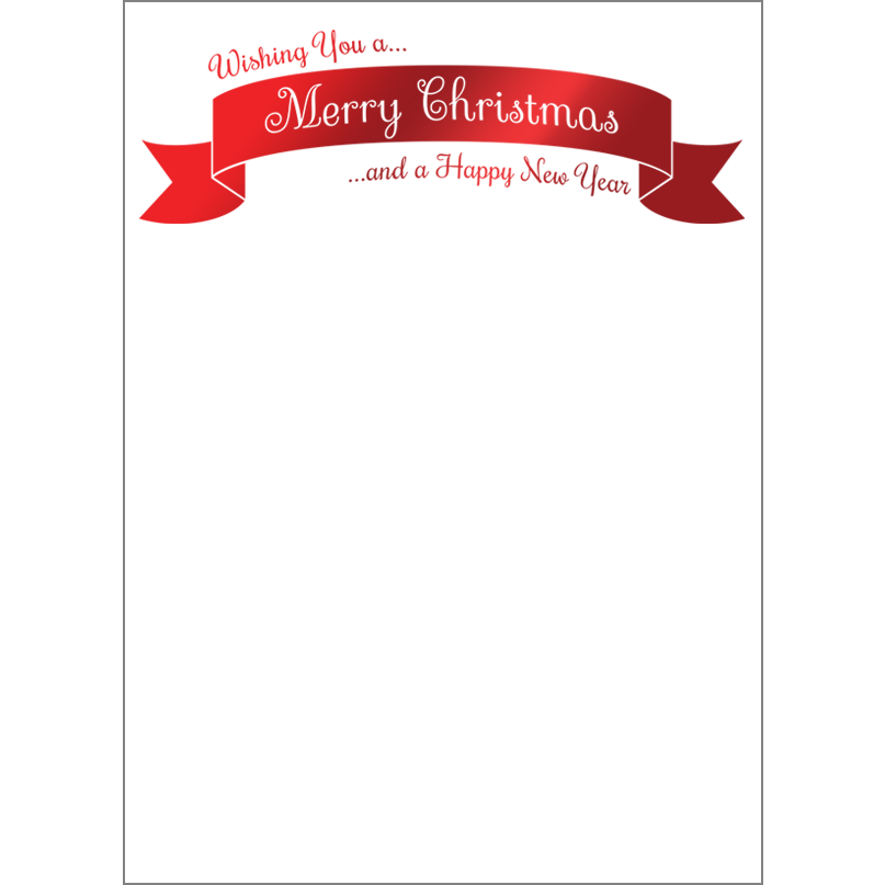 Holiday Foil Stamped Cards Design FL013Pv
