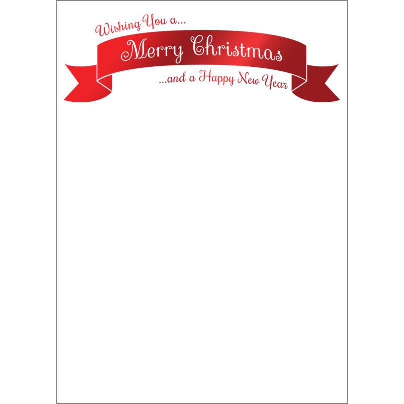 Holiday Foil Stamped Cards Design FL013Pv