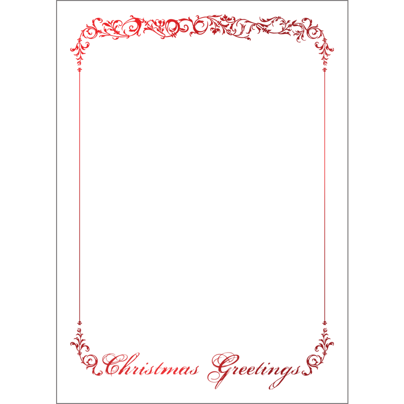 Holiday Foil Stamped Cards Design FL014Pv