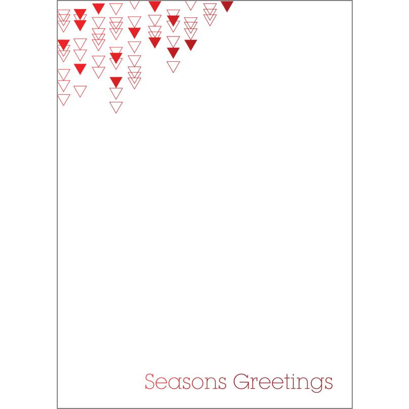 Holiday Foil Stamped Cards Design FL015Pv