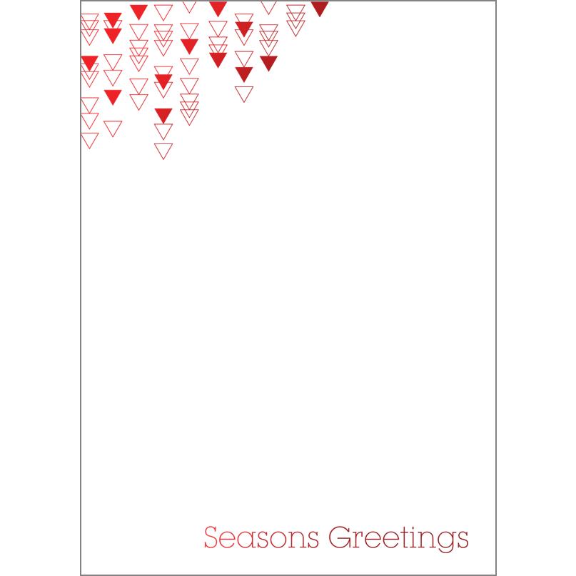 Holiday Foil Stamped Cards Design FL015Pv