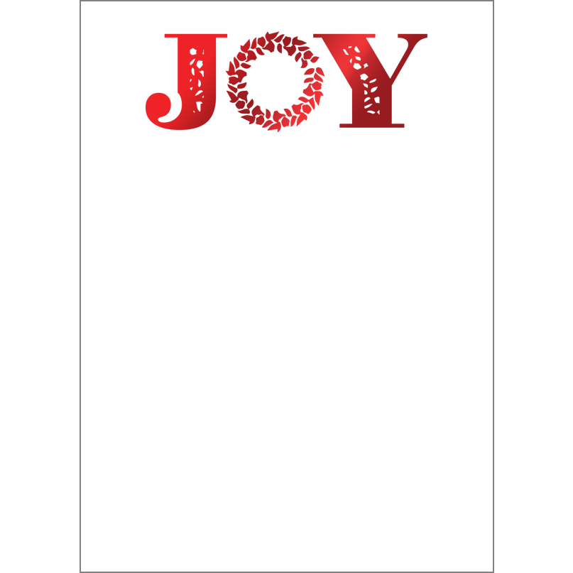 Holiday Foil Stamped Cards Design FL017Pv