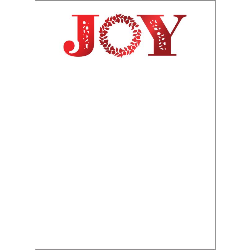 Holiday Foil Stamped Cards Design FL017Pv