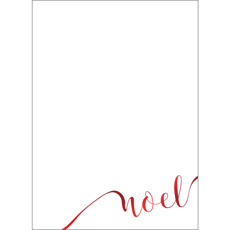 Holiday Foil Stamped Cards Design FL018Pv