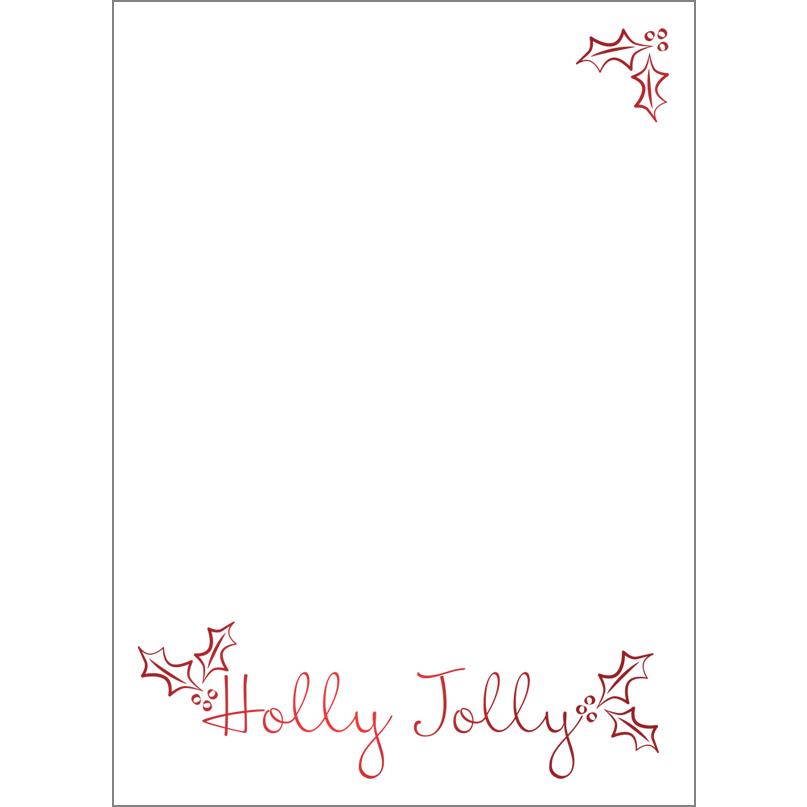 Holiday Foil Stamped Cards Design FL019Pv