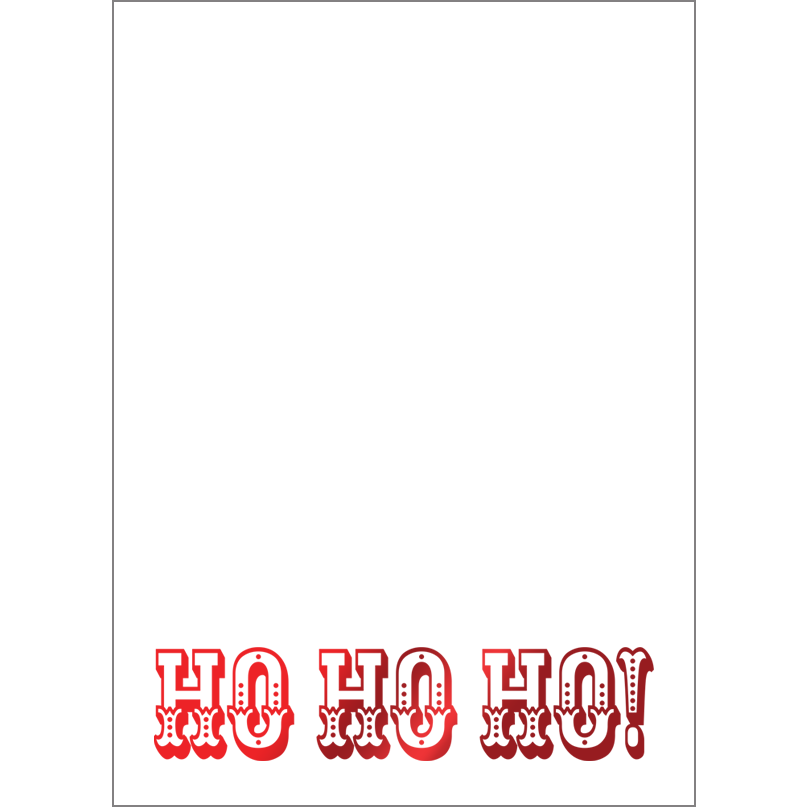Holiday Foil Stamped Cards Design FL020Pv