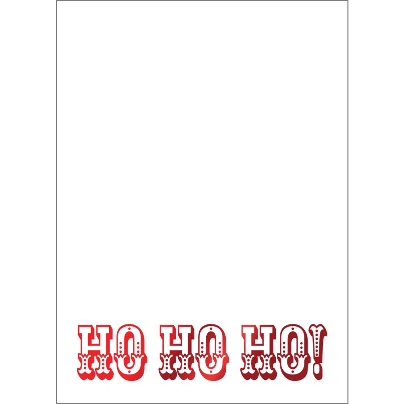 Holiday Foil Stamped Cards Design FL020Pv