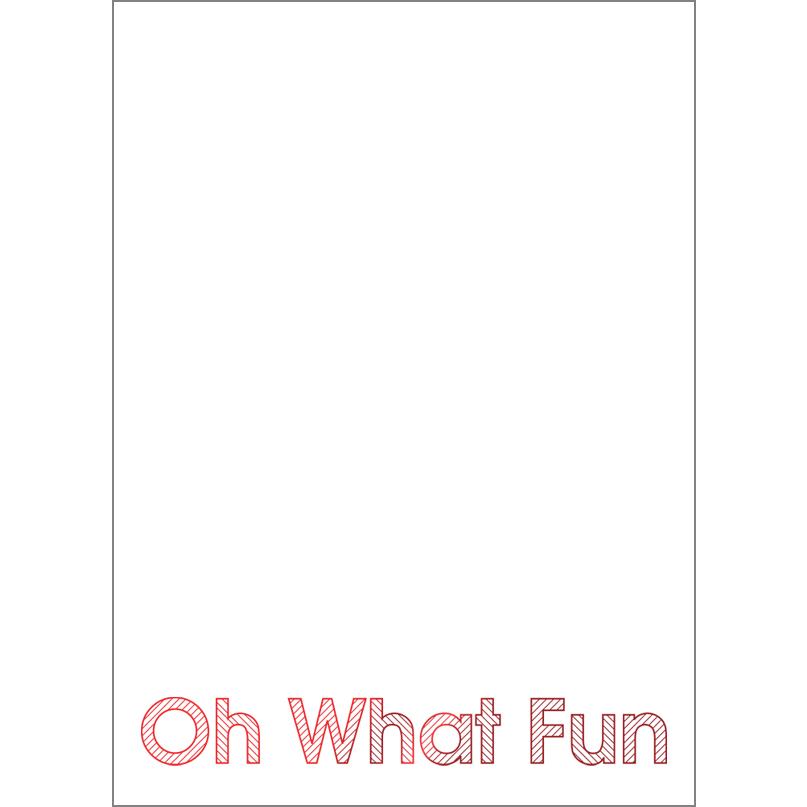 Holiday Foil Stamped Cards Design FL021PV