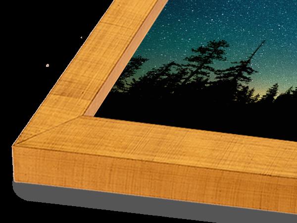 Modern Block Gold Frame
